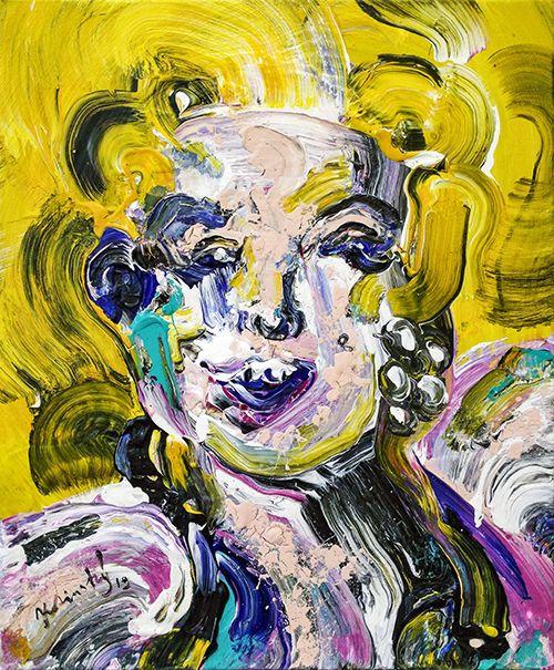 Portrét Marylin Monroe 2