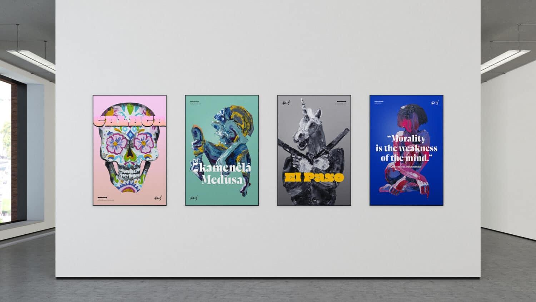 Mockup 4 Posters - Ondřej Kotinský